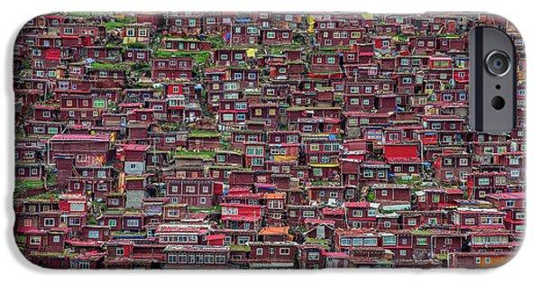Village iPhone 6 Case - Larung Gar by Tianyu