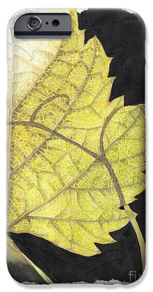 Leaf iPhone Case by Elena Yakubovich