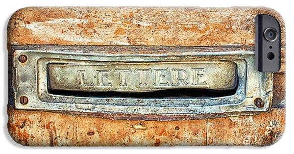 Lettere Letters IPhone 6 Case