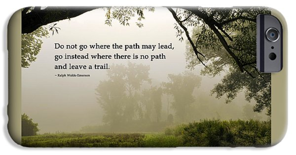 Life's Path Inspirational Art IPhone 6 Case by Christina Rollo