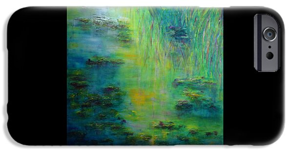 Lily Pond Tribute To Monet IPhone 6 Case