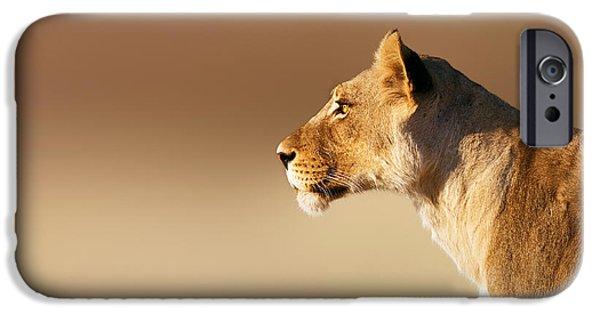 Lioness Portrait IPhone 6 Case