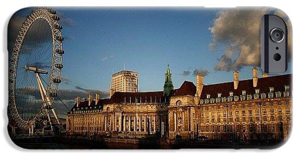 London iPhone 6 Case - #london #londoneye #westminsterbridge by Ozan Goren