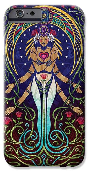 Buddhism iPhone 6 Case - Love V.2 by Cristina McAllister