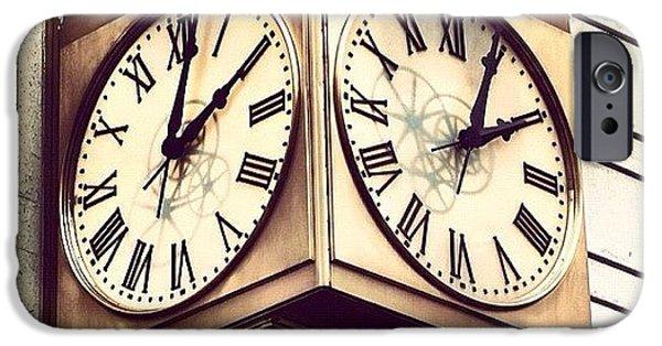 Design iPhone 6 Case - Macy's Clock by Boris Mordukhayev