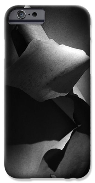 IPhone 6 Case featuring the photograph Madrona Bark Black And White by Yulia Kazansky