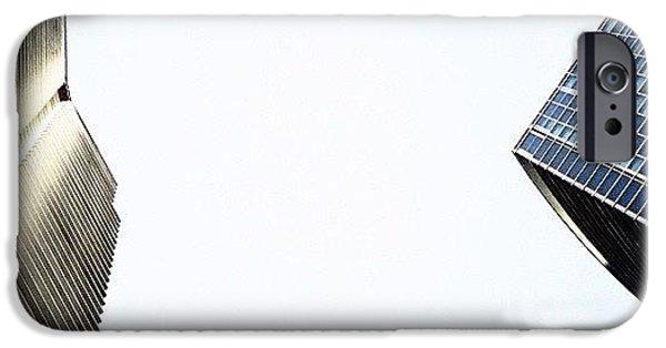 Iger iPhone 6 Case - Marina Blue Bldg. & 1800 Club Bldg. - by Joel Lopez