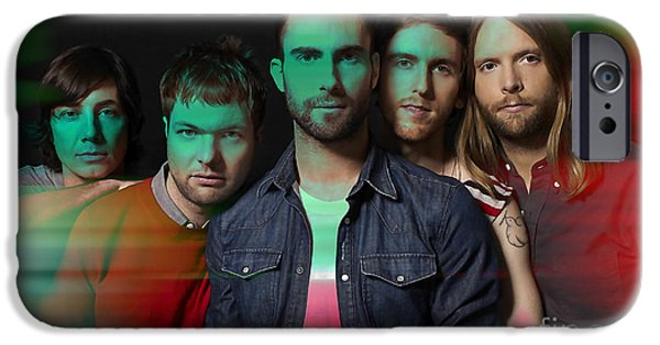 Maroon 5 Painting IPhone 6 Case by Marvin Blaine