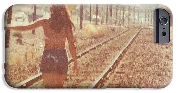 Summer iPhone 6 Case - Me Back In The 70s When Livin' Was by Blenda Studio