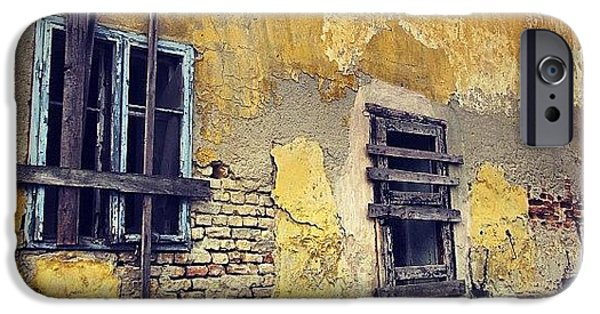Architecture iPhone 6 Case - #mgmarts #allshots_may12_yellow by Marianna Mills