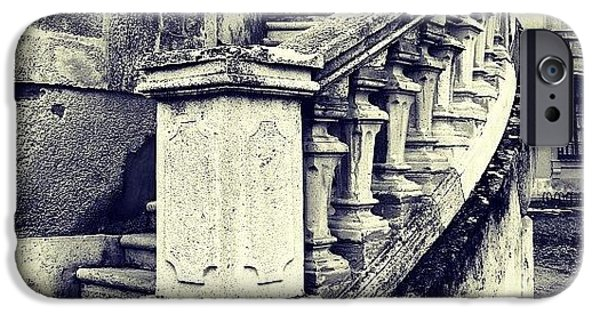 Architecture iPhone 6 Case - #mgmarts #architecture #castle #steps by Marianna Mills
