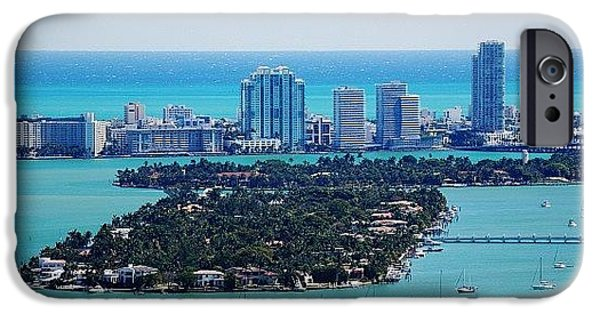 Iger iPhone 6 Case - Miami Beach & Biscayne Bay by Joel Lopez