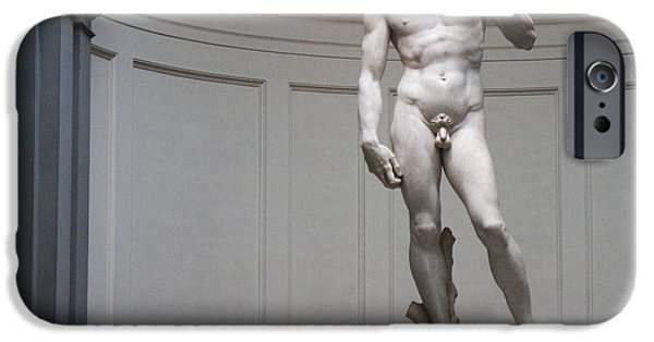 IPhone 6 Case featuring the photograph Michelangelo's David by Nathan Rupert