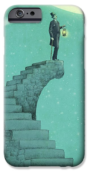 Star iPhone 6 Case - Moon Steps by Eric Fan