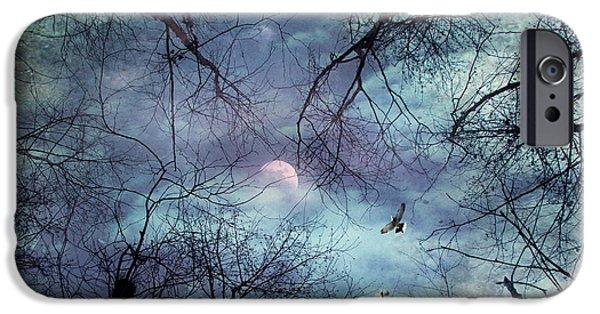 Bat iPhone 6 Case - Moonlight by Stelios Kleanthous