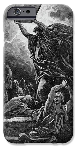 Moses Breaking The Tablets Of The Law IPhone 6 Case