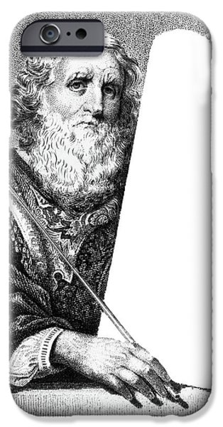 Moses Holding Blank Stone Tablet IPhone 6 Case