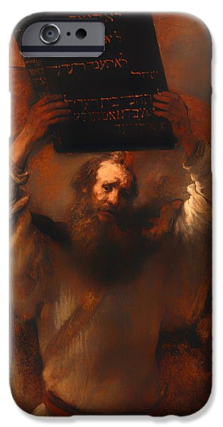 Moses With The Ten Commandments  IPhone 6 Case
