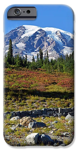 IPhone 6 Case featuring the photograph Mount Rainier by Anthony Baatz