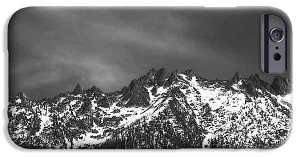 IPhone 6 Case featuring the photograph North Cascade Mountain Range by Yulia Kazansky