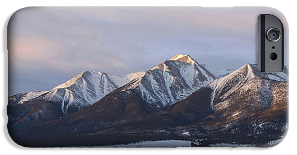 Mt. Princeton Panorama IPhone 6 Case by Aaron Spong