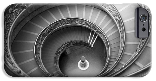 IPhone 6 Case featuring the photograph Musei Vaticani Stairs by Nathan Rupert