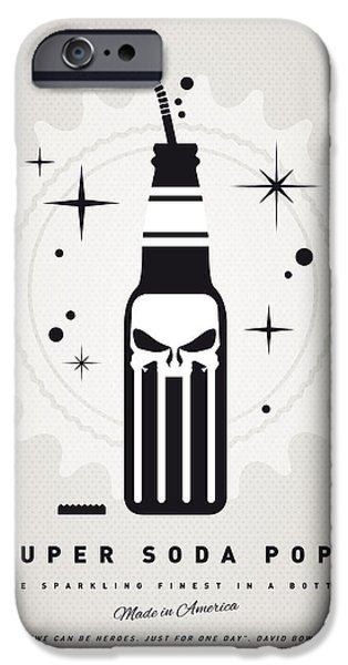 Superheroes iPhone 6 Case - My Super Soda Pops No-15 by Chungkong Art
