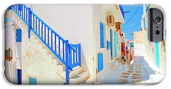Village iPhone 6 Case - Mykonos IIi (from The Series postcards From Greece) by Dieter Matthes