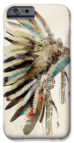 Colorful iPhone 6 Case - Native Headdress by Bri Buckley