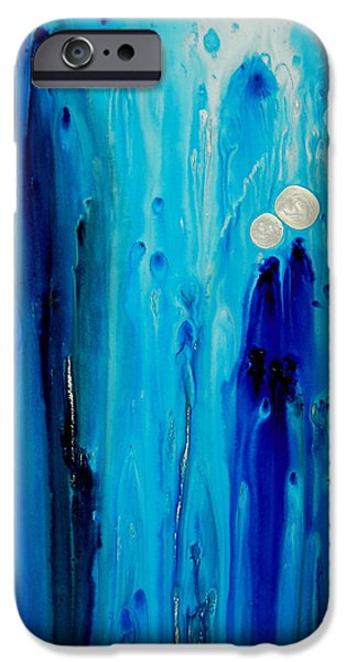 Abstract iPhone 6 Case - Never Alone By Sharon Cummings by Sharon Cummings