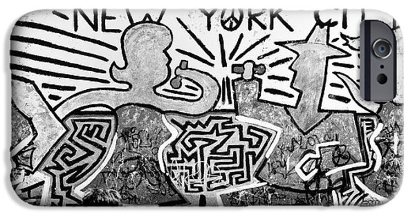 IPhone 6 Case featuring the photograph New York City Graffiti by Dave Beckerman
