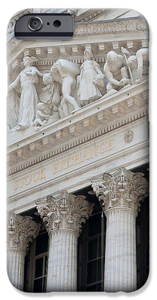 New York Stock Exchange I iPhone Case by Clarence Holmes