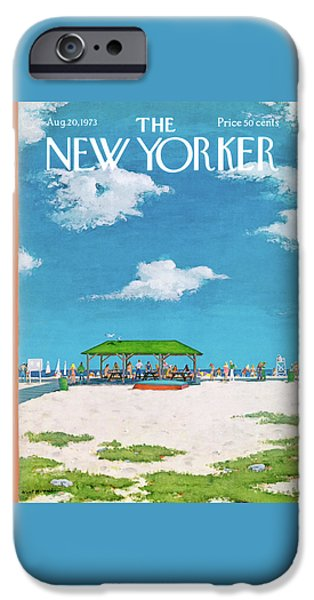 20th iPhone 6 Case - New Yorker August 20th, 1973 by Albert Hubbell