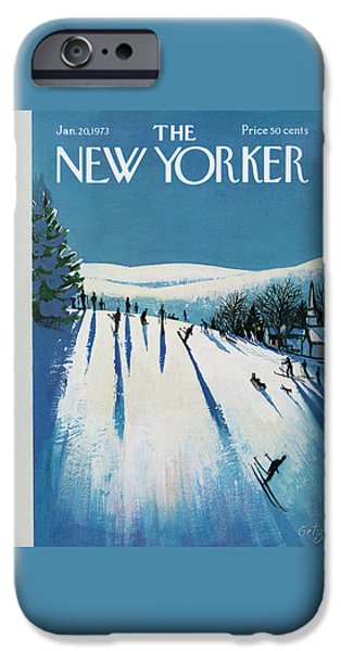 20th iPhone 6 Case - New Yorker January 20th, 1973 by Arthur Getz