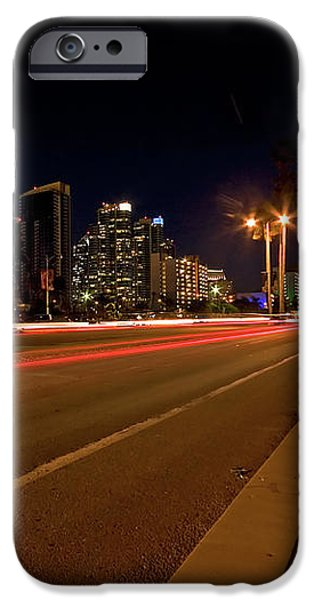 Night Parking Meter iPhone Case by Peter Tellone