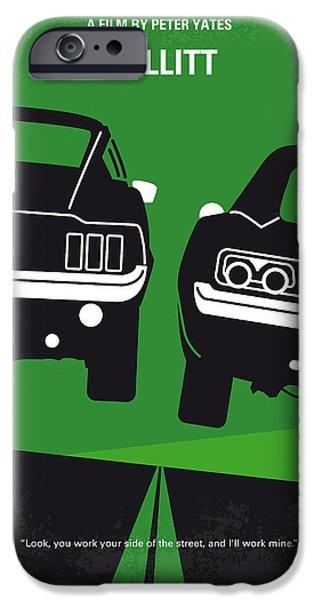 Time iPhone 6 Case - No214 My Bullitt Minimal Movie Poster by Chungkong Art