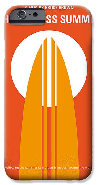 Brown iPhone 6 Case - No274 My The Endless Summer Minimal Movie Poster by Chungkong Art