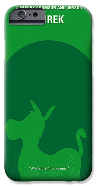 Fairy iPhone 6 Case - No280 My Shrek Minimal Movie Poster by Chungkong Art