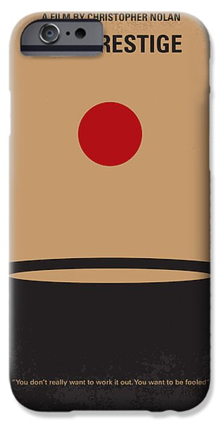 Illusion iPhone 6 Case - No381 My The Prestige Minimal Movie Poster by Chungkong Art