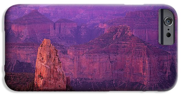 Grand Canyon iPhone Cases - North Rim Grand Canyon iPhone Case by Bob Christopher