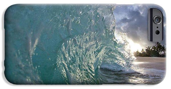 Water Ocean iPhone 6 Case - Coconut Curl by Sean Davey