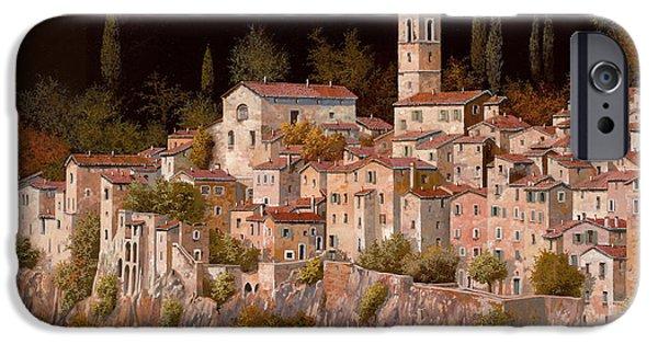 Village iPhone 6 Case - Notte Senza Luna by Guido Borelli