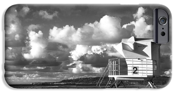 Ocean Beach Lifeguard Tower IPhone 6 Case by Nathan Rupert