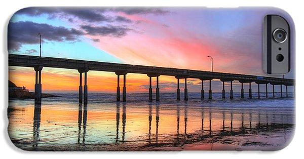Ocean Beach Sunset IPhone 6 Case by Nathan Rupert