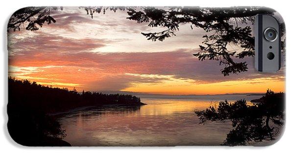 Ocean Sunset Deception Pass IPhone 6 Case