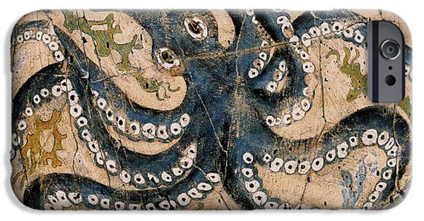 Bogdanoff iPhone 6 Case - Octopus - Study No. 2 by Steve Bogdanoff