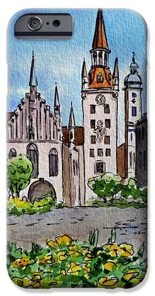 Old Town Hall Munich Germany IPhone 6 Case