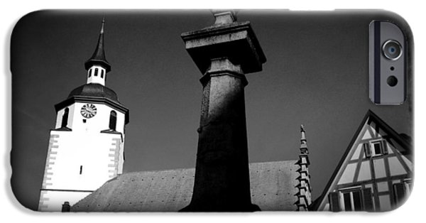 Old Town Waldenbuch In Germany IPhone 6 Case