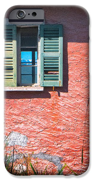 IPhone 6 Case featuring the photograph Old Window With Reflection by Silvia Ganora