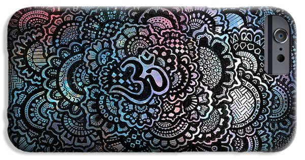 Decorative iPhone 6 Case - Om Sweet Om by Andrea Stephenson